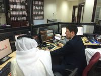 a Russian student of Master of Science (MSc) in Islamic Banking and Finance at IIUM Institute of Islamic Banking and Finance, Ruslan Sabirzyanov began a training program at the of Treasury and Investments Department of AlBaraka Banking Group in Bahrain